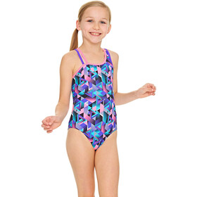 Zoggs Kitch Chaos Crossback Swimsuit Children colourful